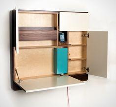 Wait. This is the Coolest Desk EVER! via Brit + Co.