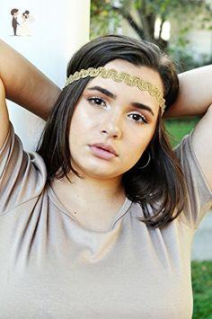 Fancy Gold Design Wedding Crown Gatsby Headpiece Accessories Bridal Hair Accessory Boho Headband - Bridal hair accessories (*Amazon Partner-Link)