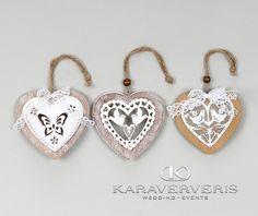 Kαρδιά ξύλο-μέταλλο σε τρία σχέδια Δείτε ακόμα περισσότερα στο www.karaververis.gr