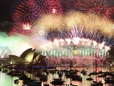 Sydney New Years Eve right under the bridge! NYE 2009