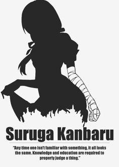 Anime character quotes - Bakemonogatari - Suruga Kanbaru