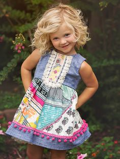 Haute Baby Chelsea Girl dress – Zandy Zoos almost sold out! Baby Boutique Clothing, Girls Boutique, Infant Clothing, Children Clothing, Little Girl Outfits, Cute Outfits For Kids, Toddler Fashion, Kids Fashion, Fashion Women