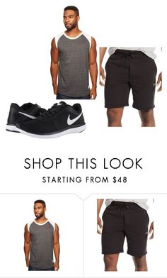 Chest Day - Monday by ajay-parmar on Polyvore featuring Kinetix, Polo Ralph Lauren, NIKE, men's fashion and menswear