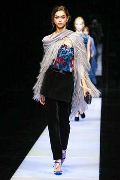 Giorgio Armani Ready To Wear Fall Winter 2015 Milan