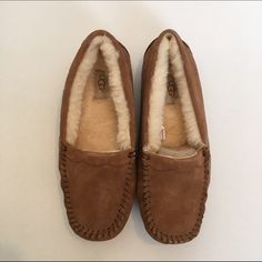 NWT UGG Chestnut Moccasins NWT . Includes box and papers UGG Shoes Moccasins