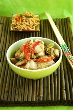 Asian Style Tilapia by What's for Lunch, Honey?