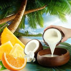 Buy Coconut Coast Fragrance Oil at Natures Garden scents. Our Coconut Coast scent can be used to make candles, soap, cosmetics. Aroma Beads, Hermes Perfume, Candle Making Supplies, Best Fragrances, Cold Process Soap, Clean Beauty, Fragrance Oil, Fresh Fruit, Body Care