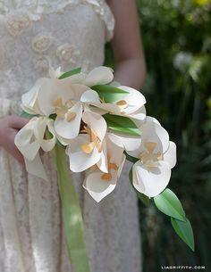 DIY Paper Crafts : DIY Paper Orchid