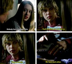 """""""Nobody here is happy, Tate"""""""