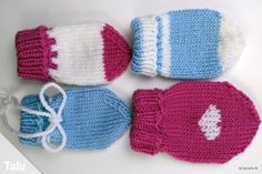 Babyhandschuhe stricken The Effective Pictures We Offer You About baby stricken latzhose A quality p Baby Mittens, Knit Mittens, Knitted Hats, Bonnet Crochet, Crochet Beanie, Felt Food Patterns, Knitting Patterns, Lidia Crochet Tricot, Knit Baby Dress
