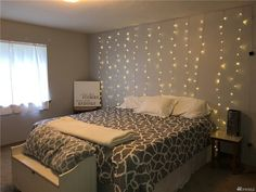 Matrix Girl Bedroom Designs, Girls Bedroom, String Lights, Furniture, Home Decor, Twinkle Lights, Interior Design, Home Interior Design, Arredamento