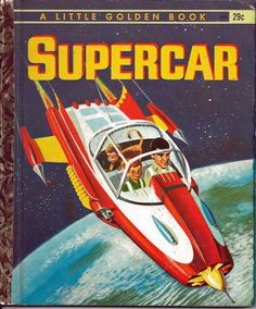 Little Golden Book: Supercar