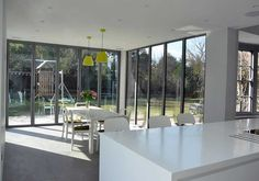 Sunflex SF55 bifolding door IDSystems & Sunflex SF55 bifolding door IDSystems | Kitchen | Pinterest | Doors ...