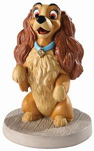 Lady and the Tramp - Lady - Warm Welcome - Walt Disney Classics Collection - World-Wide-Art.com - $99.00 #WDCC #Disney