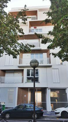 GENTILLE ALOUETTE 21 LOGEMENTS COLLECTIF PARIS / MFR Architectes