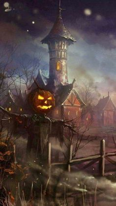 🍁 🎃 Affiches d'halloween vintage 🦇 Retro Halloween, Halloween Kunst, Image Halloween, Halloween Artwork, Theme Halloween, Halloween Painting, Halloween Prints, Halloween Horror, Holidays Halloween