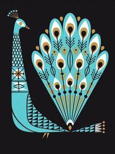 Lab Partners // Proud as a Peacock – Modern Kiddo illustration Art And Illustration, Vintage Illustrations, Grafik Design, Art Design, Oeuvre D'art, Illustrators, Folk Art, Art Photography, Artsy