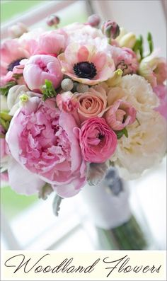 Bridal bouquet by Seattle florist Woodland Flowers, photo by Christopher Gendron Photography | http://junebugweddings.com