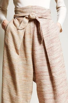 ..focus..damn it! | blueberrymodern: Anntian Wrap Pant in Two...