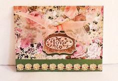 A personal favorite from my Etsy shop https://www.etsy.com/listing/220090105/hand-made-cards-stampin-up-love-wedding