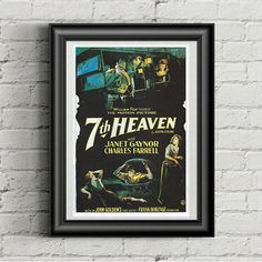 Movie Prints, Poster Prints, Old Hollywood Movies, Vintage Movies, Vintage Prints, Picture Show, The Past, Retro, Awesome