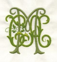 A Touch of Lace | Monogram Examples