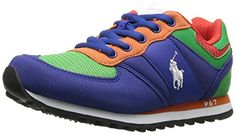 Polo Ralph Lauren Kids Boys' Slaton Sneaker, Royal/Green,... https://www.amazon.com/dp/B01B3SNBQM/ref=cm_sw_r_pi_dp_x_.WHRybG2G33TX