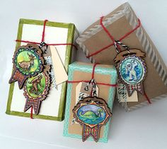 Bigfoot Gift Tag Ornament by cleomade on Etsy  sasquatch, yeti, nessi, loch ness monster, jackalope