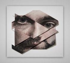 Origami Faces by Aldo Tolino