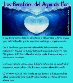Otro buen resumen sobre los Beneficios del Agua de Mar