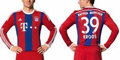 Bayern Munich 2014-15 New Jersey, Kit Home Released, Away Leaked | Footballwood