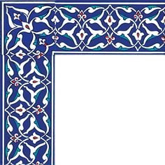 10x20_iznik_desenli_cini_dekor_kutahya_cami_cinisi_altıgen_ks_40_cini_bordur Ceramic Tile Art, Mosaic Art, Islamic Art Pattern, Pattern Art, Arabesque, Decoupage, Islamic Tiles, Turkish Art, Turkish Tiles