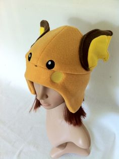 Pokemon Raichu Fleece Beanie