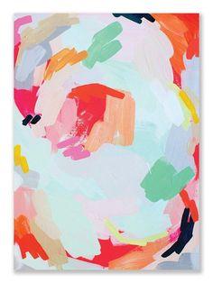 Anthology Magazine back cover | Britt Bass painting