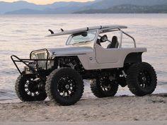 beach Jeep!