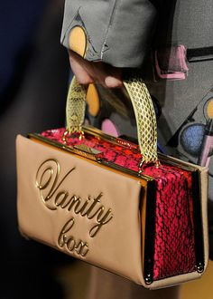 Moschino cheap and chic fall/winter 2012