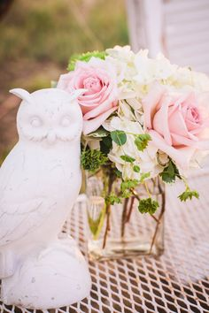 Pink and White Vintage Shabby Chic Wedding inspiration Styled Session by POPography.org