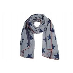 #scarf #stars #Amust #blue #grey