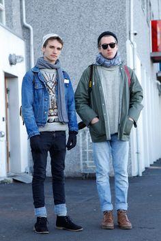 Jon and Alex - Myrargata, Reykjavik, Iceland