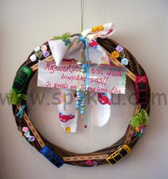 Wooden decorative for door ! Welcome baby! <3 Find more @ www.spykou.com