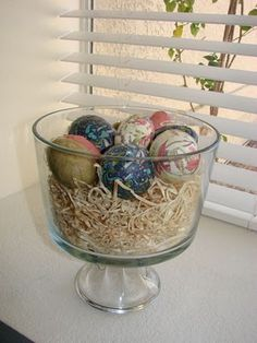 Homemade Egg Decoration...for Springtime!