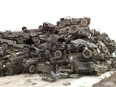 Land Rover wrecks