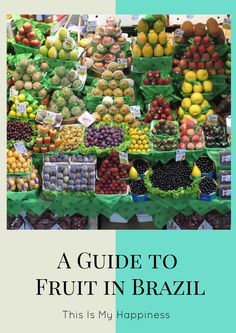 Photos and descriptions of the most common fruits found in Brazil, from jaca to various types of mango and much more