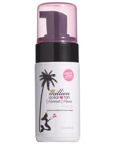 Spotted this Million Dollar Tan 4oz Mermaid Mousse Face Tanner on Rue La La. Shop (quickly!).
