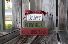 christmas magic blocks
