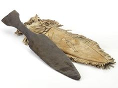 Inuit copper hunting knife and sheath Historical Artifacts, First Nations, Art History, Weapons, Hunting, Copper, Image, Weapons Guns, Guns
