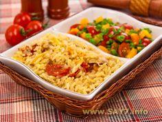 Курица, тушенная с рисом и овощами Asian Recipes, Ethnic Recipes, Fried Rice, Tacos, Good Food, Cooking Recipes, Dinners, Book, Diet