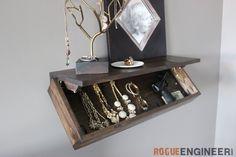 Secret Shelf | Free Plans | Rogue Engineer