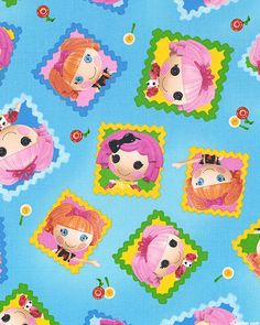 Lalaloopsy - Cute as a Button Toss - Sky Blue