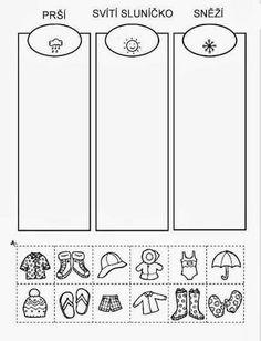 Z internetu – Sisa Stipa – Webová alba Picasa Abc Activities, Preschool Worksheets, Weather For Kids, Teaching Kindergarten, School Humor, English Lessons, Teaching English, Pre School, Kids Learning